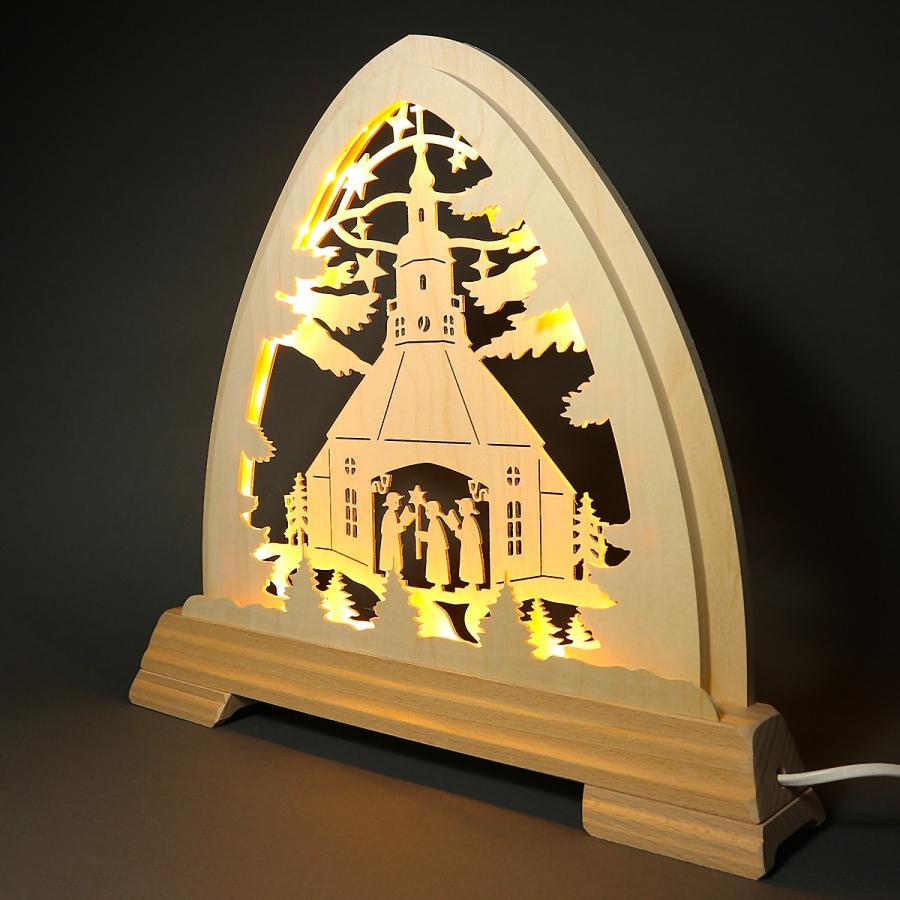 Rundbogen Seiffner Kirche - LED Band