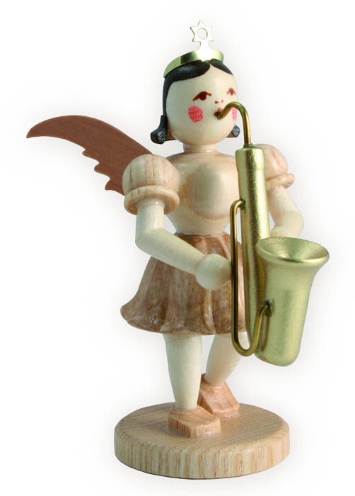 Saxophon Kurzrockengel natur