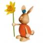 Stupsi Hase mit Blume