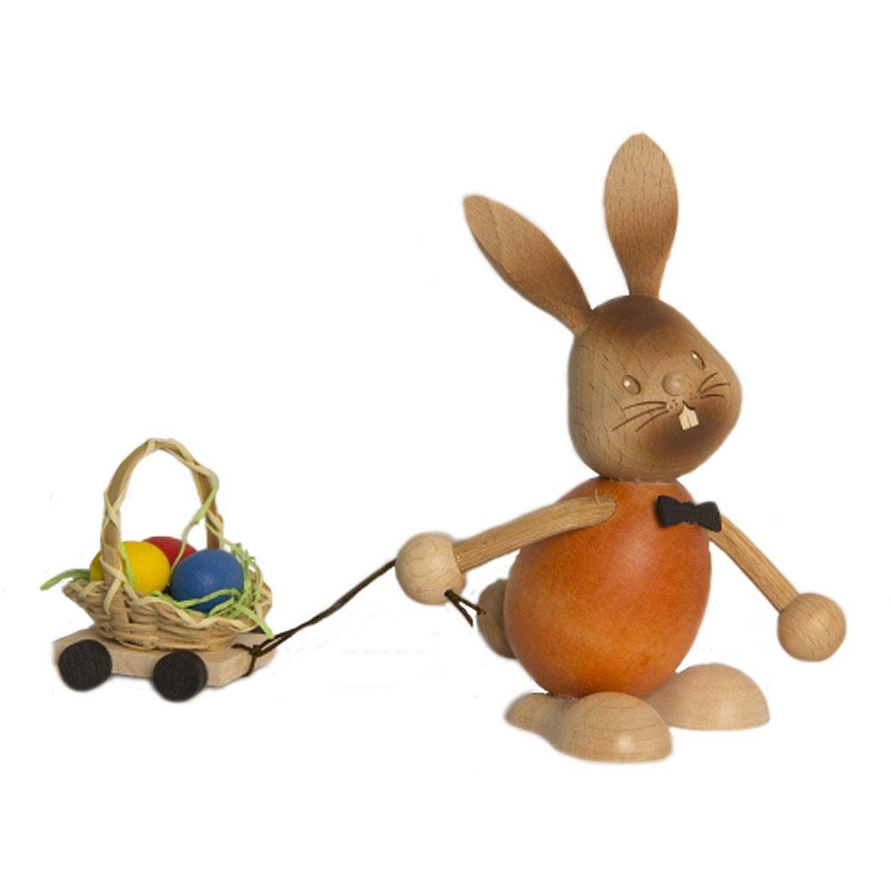 Stupsi Hase mit Eierwagen