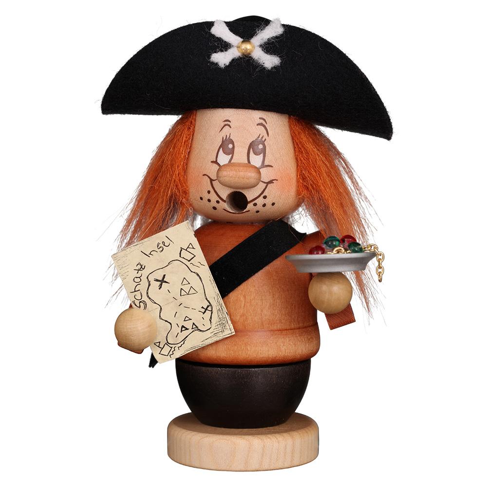 Räuchermann Miniwichtel Pirat