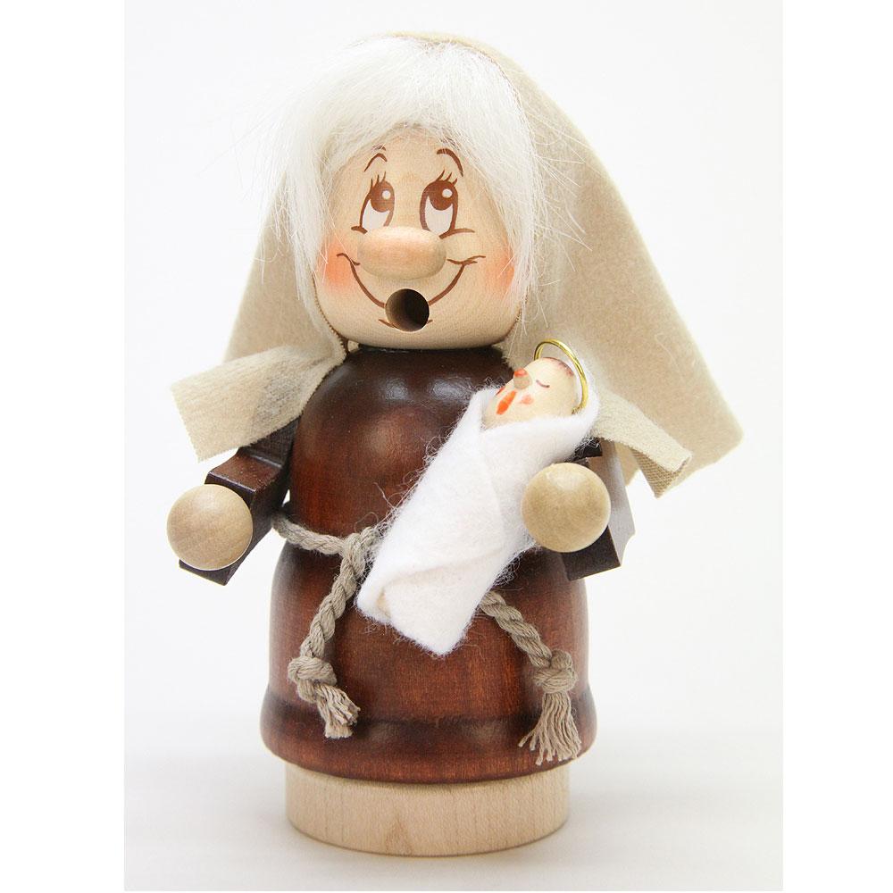 Räuchermann Miniwichtel Maria