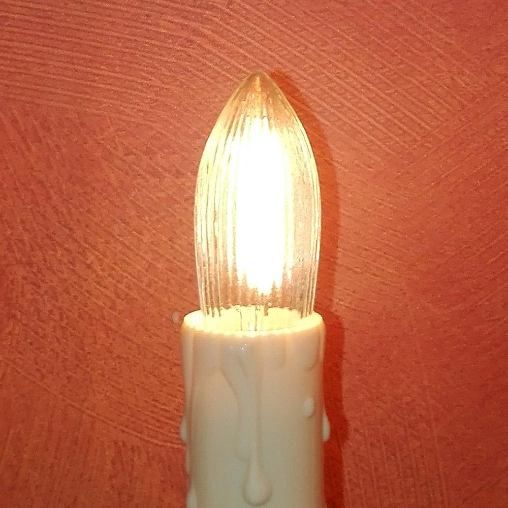 Riffelkerze 23V | 0,2W LED-Filament